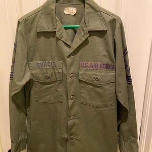 Vintage Vietnam Era US Air Force Fatigue Shirt